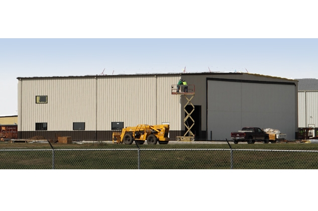 Airplane Hanger Building